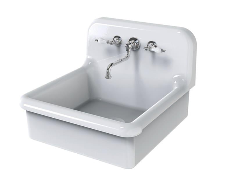 Lavello a una vasca in ceramica TRUE COLORS KITCHEN 60   Lavello by BLEU PROVENCE
