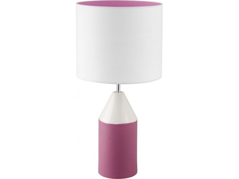 Ceramic table lamp TRUMPET by Flam & Luce