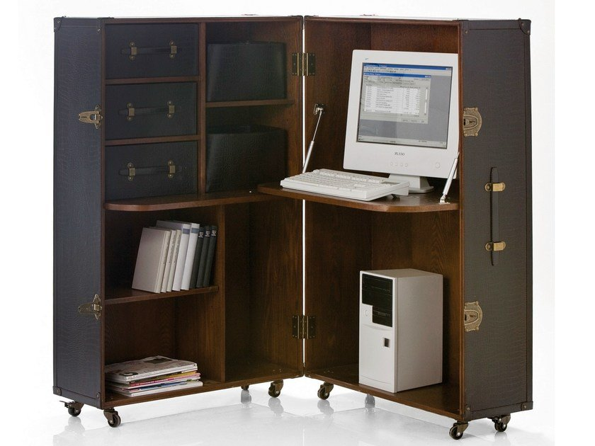 Individual office workstation TRUNK OFFICE COLONIAL by KARE-DESIGN