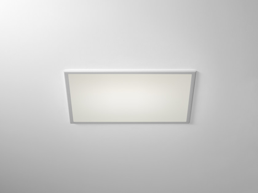 LED rectangular recessed polycarbonate spotlight TRYBECA 150 RECTANGLE WITH BEZEL by Reggiani