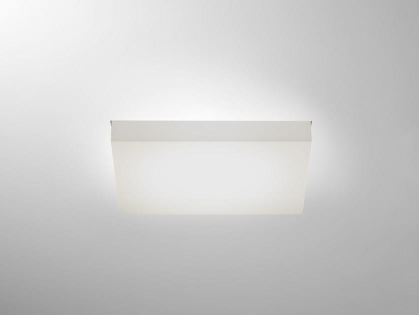 LED rectangular recessed polycarbonate spotlight TRYBECA 150 RECTANGLE TRIMLESS by Reggiani