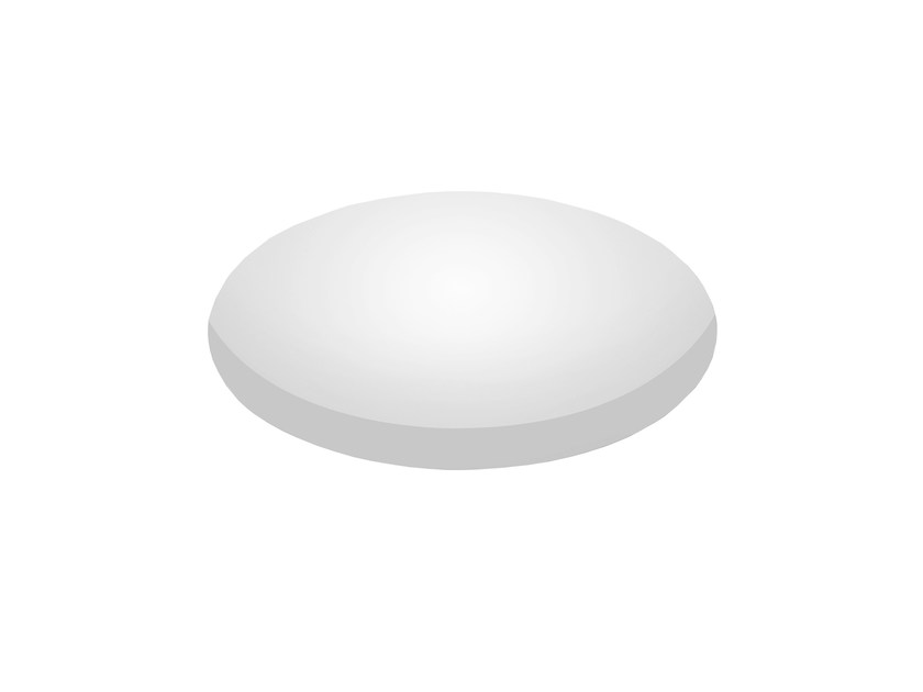 LED round recessed polycarbonate spotlight TRYBECA 150 ROUND TRIMLESS by Reggiani