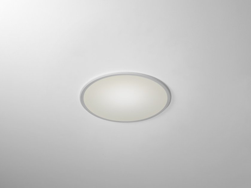 LED round recessed polycarbonate spotlight TRYBECA 38 ROUND WITH BEZEL by Reggiani
