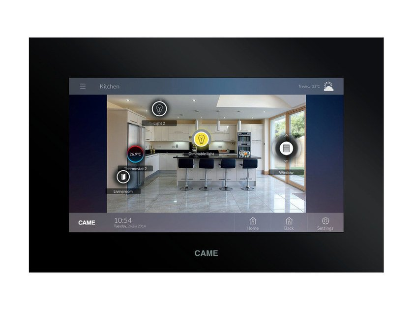 """Terminale touch screen da 7"""" con connessione Wi-Fi TS7 WI-FI by CAME"""