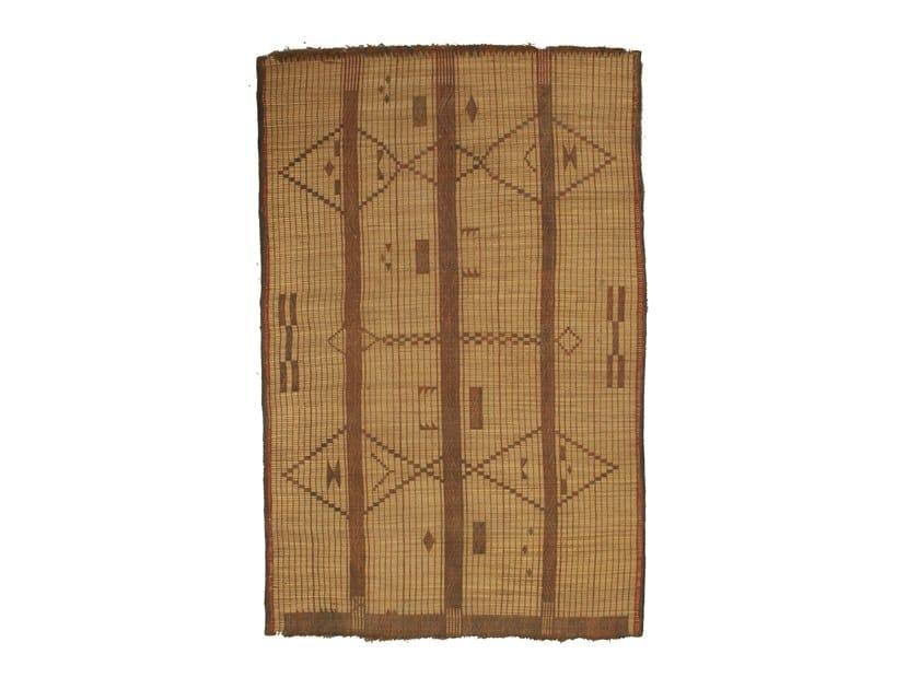 Rectangular wooden Mat TUAREG ST100TU by AFOLKI