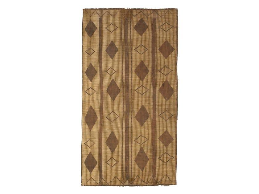 Rectangular wooden Mat TUAREG ST102TU by AFOLKI