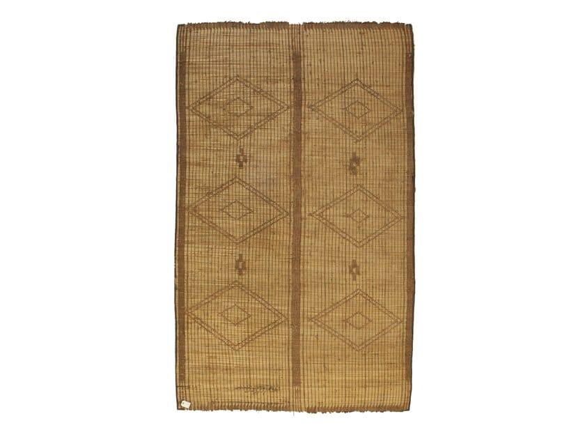Rectangular wooden Mat TUAREG ST103TU by AFOLKI