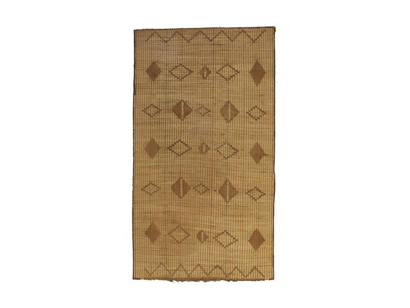 Rectangular wooden Mat TUAREG ST104TU by AFOLKI