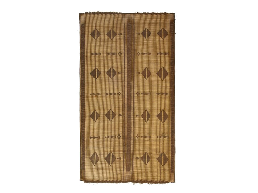 Rectangular wooden Mat TUAREG ST105TU by AFOLKI
