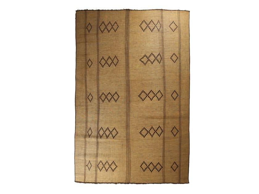 Rectangular wooden Mat TUAREG ST61TU by AFOLKI