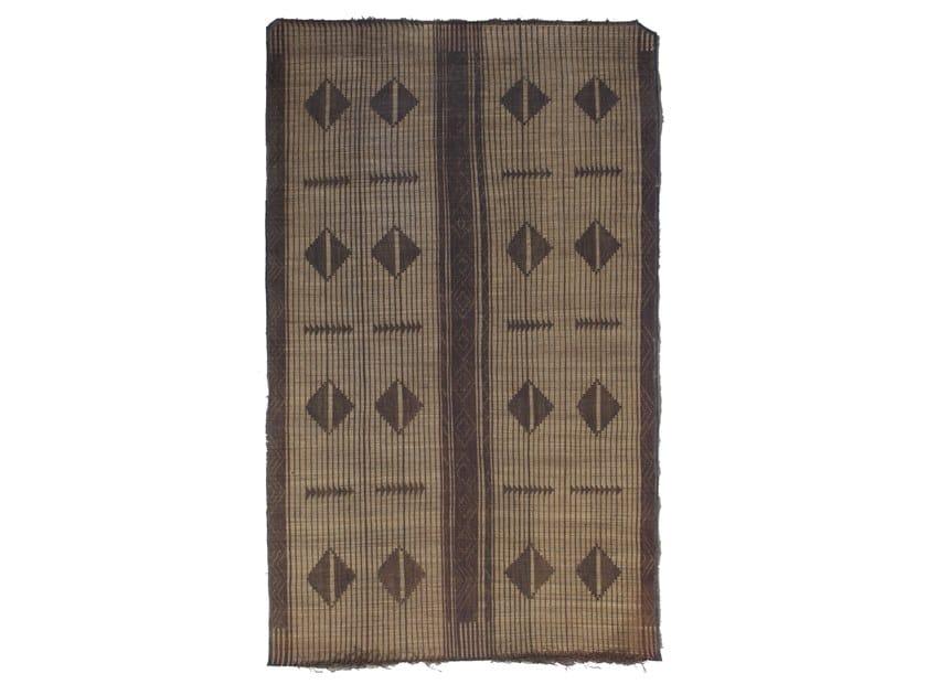 Rectangular wooden Mat TUAREG ST97TU by AFOLKI
