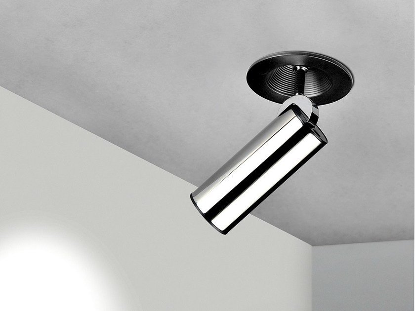 LED adjustable stainless steel spotlight with dimmer TUB LED 6514 by Milan Iluminacion