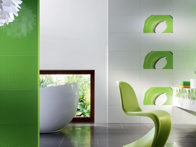 Indoor wall tiles TUBADZIN COLOUR POP by tubadzin