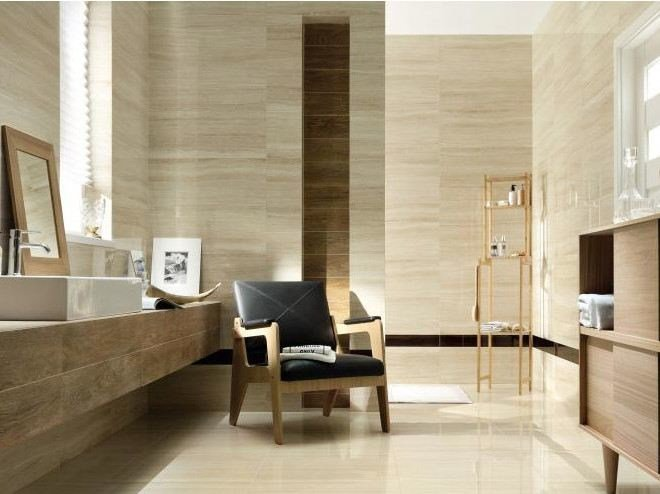Porcelain stoneware wall/floor tiles with marble effect TUBADZIN VENATELLO | Wall/floor tiles by tubadzin