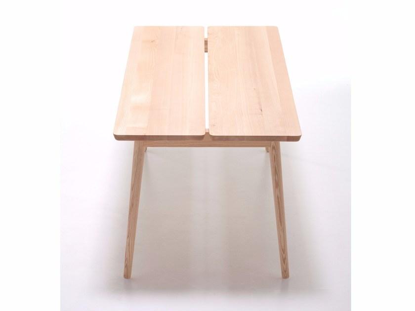 Rectangular ash table STUBE | Rectangular table by Cizeta L'Abbate