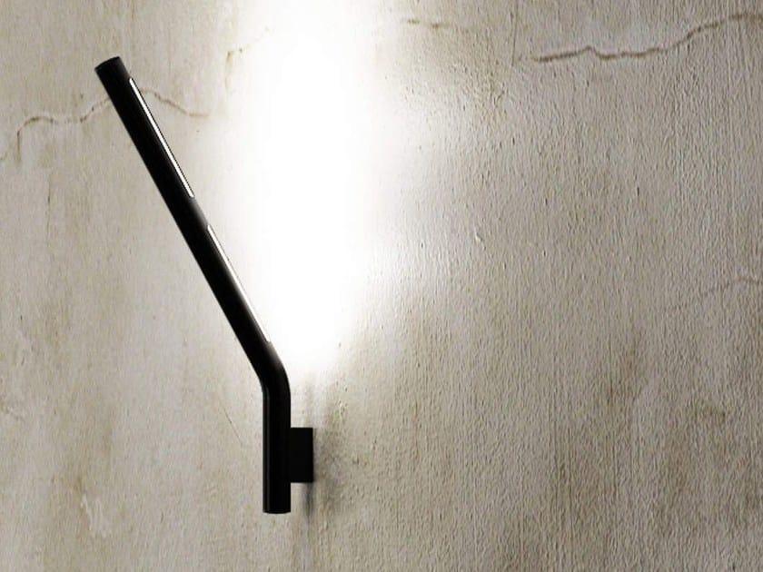 LED iron wall light TUBE SMALL by ZAVA