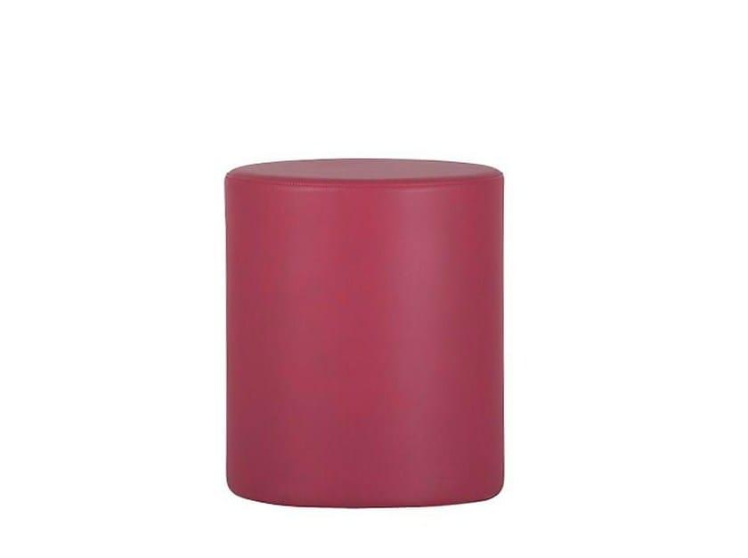Pouf / tavolino in tessuto TUBE | Pouf by SMV