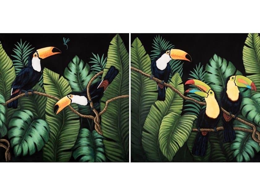 Canvas Painting Tucan I & II by NOVOCUADRO ART COMPANY
