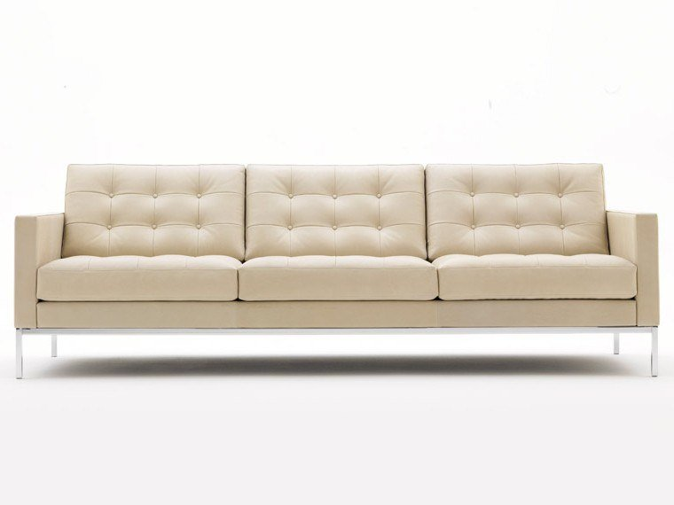Florence Knoll Relax Tufted Sofa By