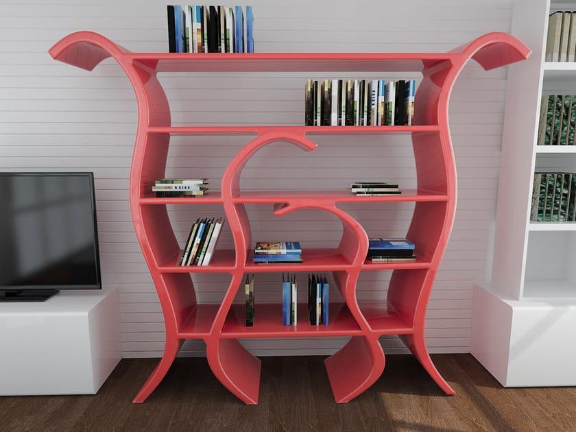 Open Adamantx® bookcase TULIP by ZAD ITALY