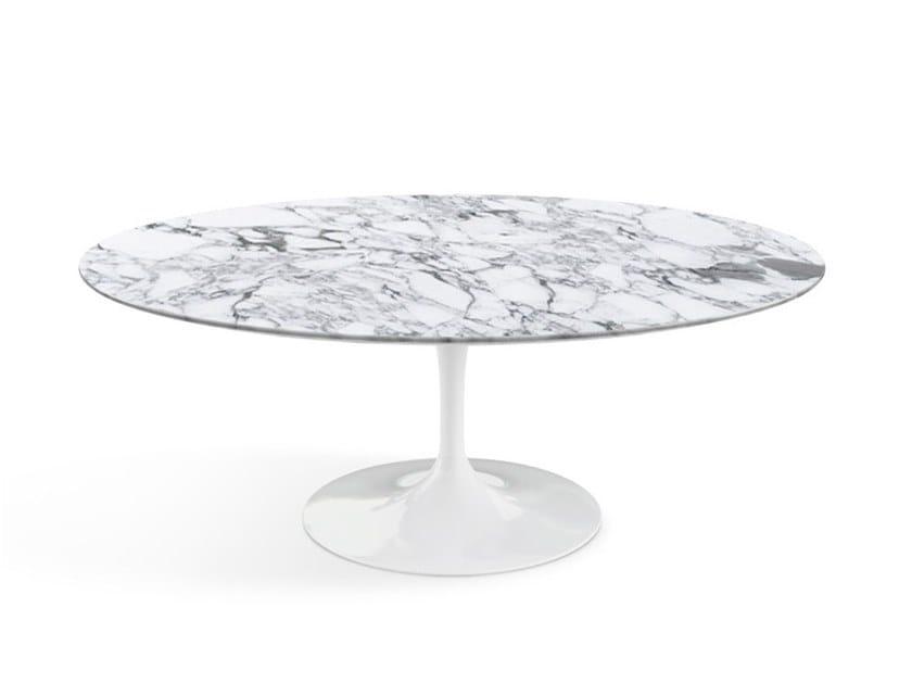 Tulip Oval Coffee Table By Knoll Design Eero Saarinen