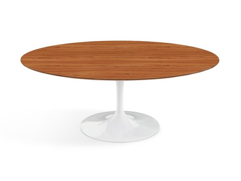 buy great fit buying now TULIP | Oval coffee table By KNOLL design Eero Saarinen