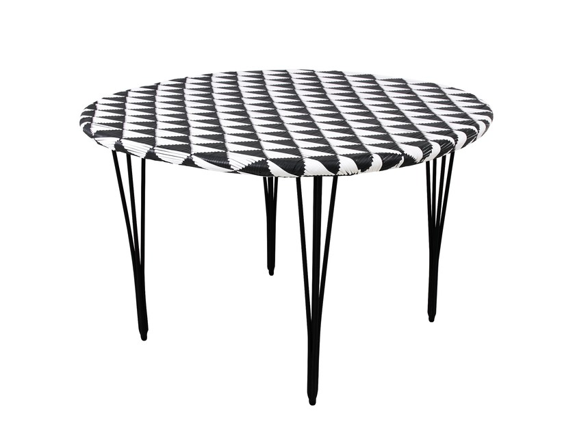 Round Garden Table TULIP | Round Table By 7OCEANS DESIGNS