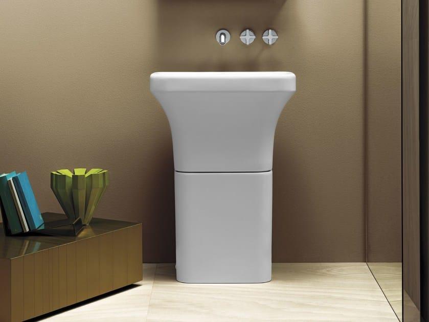 Freestanding pedestal washbasin TULIP | Freestanding washbasin by AZZURRA sanitari