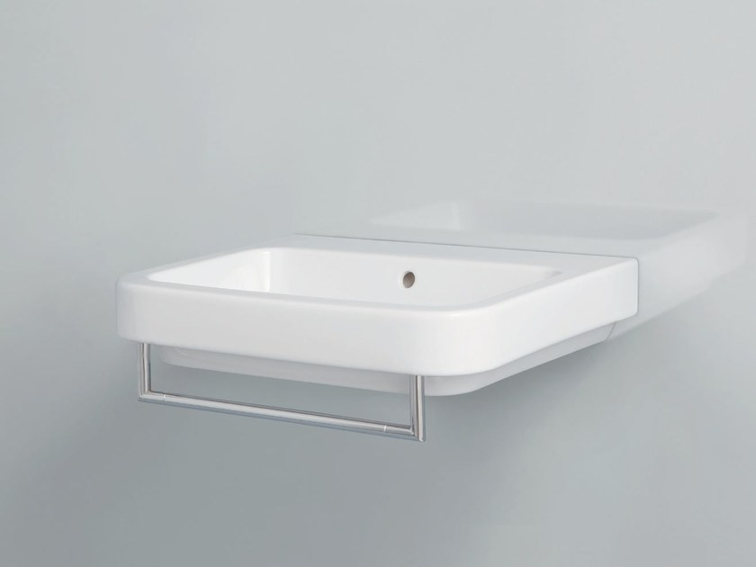 Wall-mounted ceramic washbasin TULIP | Wall-mounted washbasin by AZZURRA sanitari