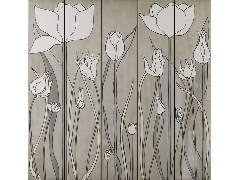 Indoor ceramic wall tiles TULIPANI 3 by Ceramica Bardelli