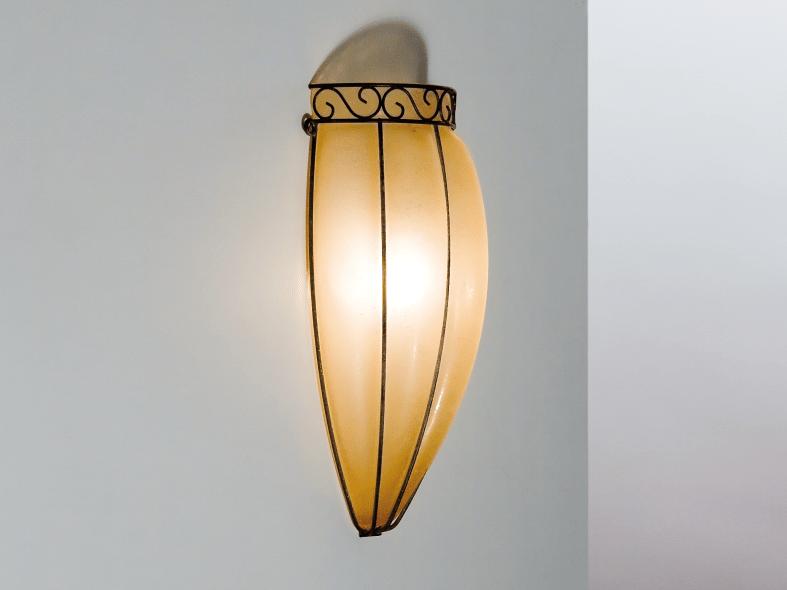 Murano glass wall lamp TULIPANO MA 237 by Siru