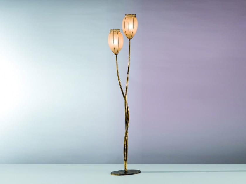 Murano glass floor lamp TULIPANO MP 237 by Siru