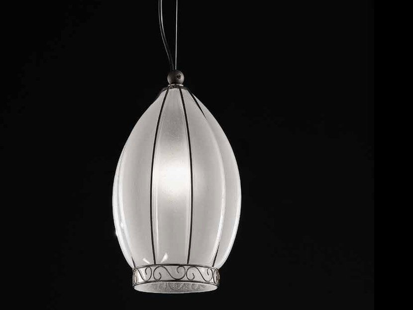 Murano glass pendant lamp TULIPANO MS 237 by Siru