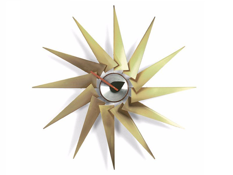 Wall-mounted clock TURBINE CLOCK by Vitra