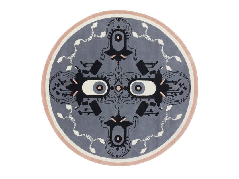 Handmade custom rug TURLURETTE by cc-tapis