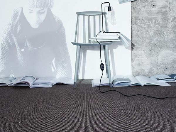 Solid-color carpet tiles TUTTO BENE 600 by OBJECT CARPET GmbH