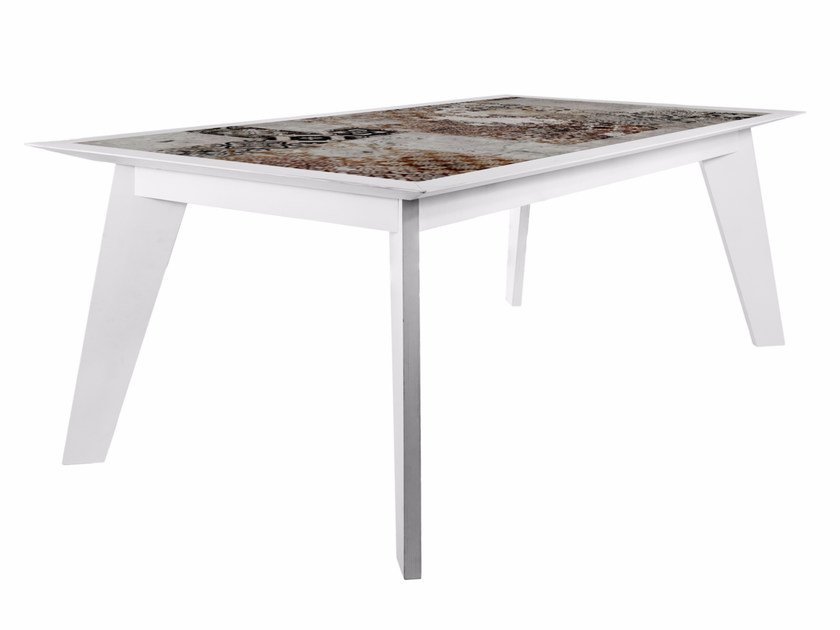 Rectangular dining table TV-1C by MOMENTI