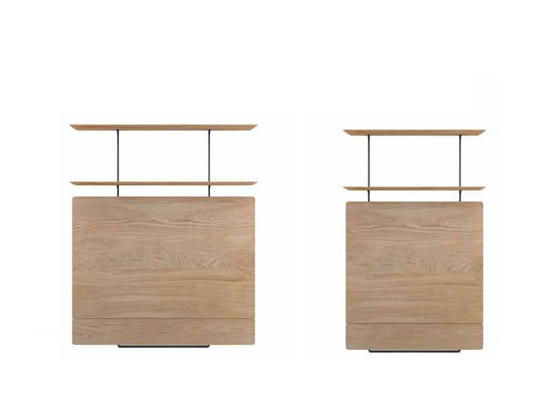 Modular English oak TV cabinet TEAM | TV cabinet by EXPORMIM