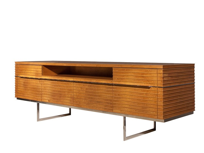 Wooden TV cabinet DUBLIN | TV cabinet by Mobi