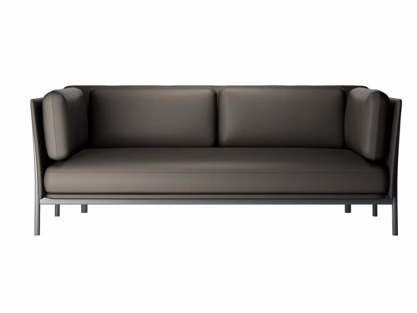 2 seater sofa TWELVE 2 - 881 by Alias