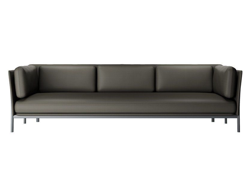 3 seater sofa TWELVE 3 - 882 by Alias