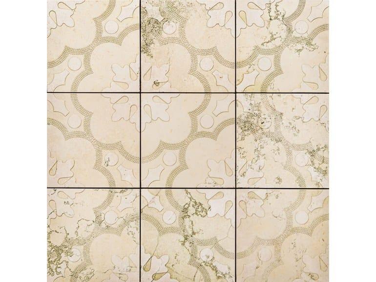Natural stone flooring TWENTY 02 by Lithos Mosaico Italia