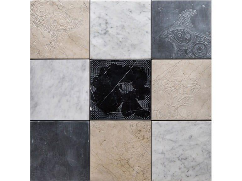 Natural stone flooring TWENTY OLD by Lithos Mosaico Italia