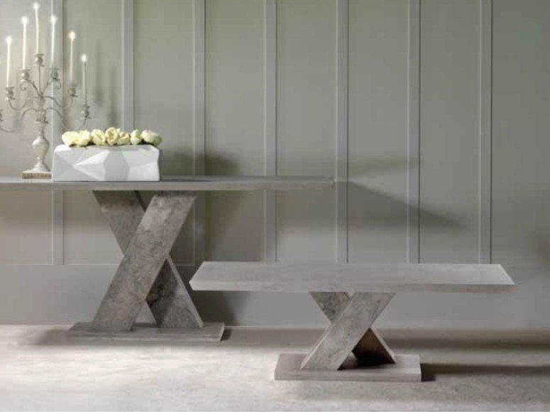 Rectangular marble coffee table TWID | Coffee table by International Marmi