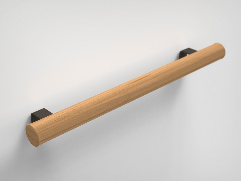 Iroko towel rail TWIG | Towel rack by Boffi
