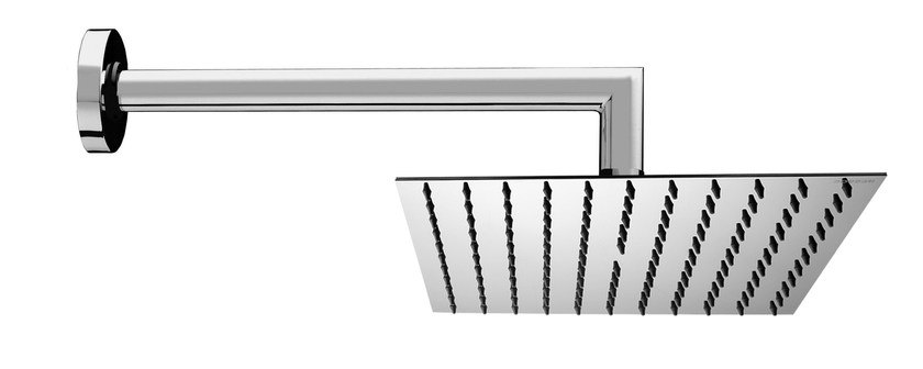 1-spray stainless steel overhead shower Twiggy 250 x 250 mm by Bossini