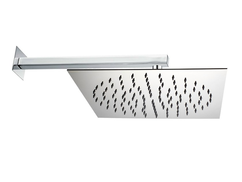 1-spray stainless steel overhead shower Twiggy 300 x 300 mm by Bossini