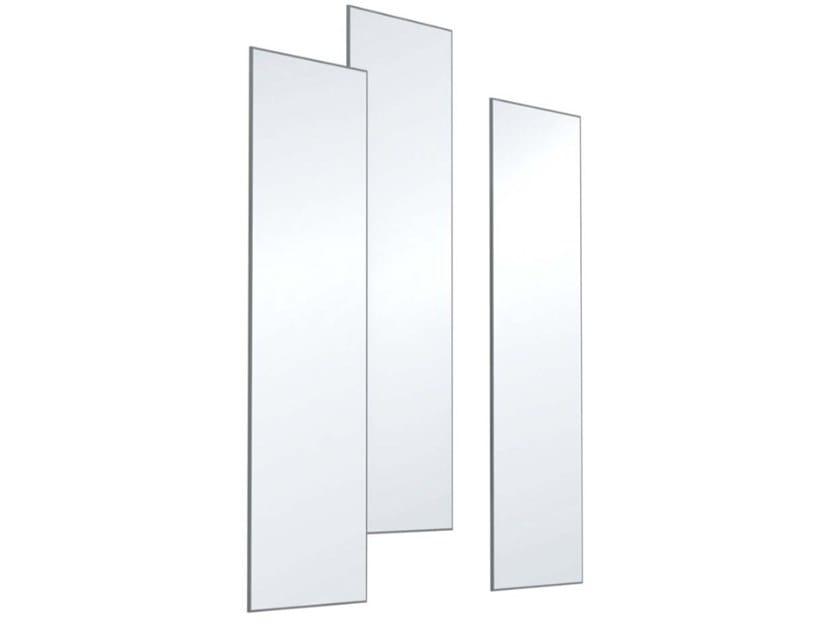 Rectangular wall-mounted mirror TWIGGY by JESSE