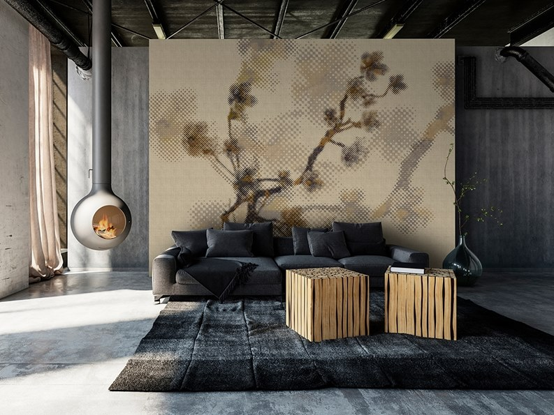 Washable Digital printing wallpaper TWIGS by Architects Paper