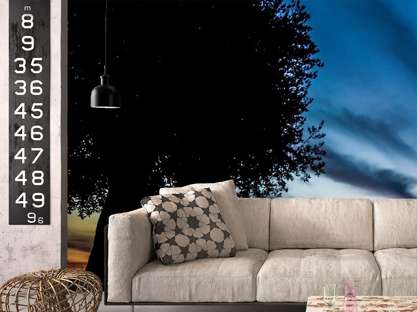 Panoramic landscape wallpaper TWILIGHT by Mat&Mat